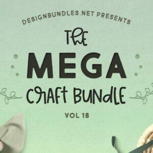Mega Craft Bundle 18 Review Design Bundles SVG and Fonts