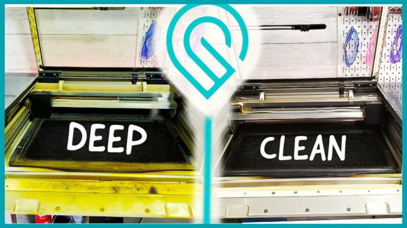 Glowforge Deep Cleaning Tips Exhaust and Air Assist