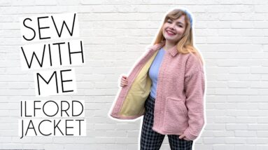 SEW WITH ME   Friday Pattern Company Ilford Jacket & Lining Vlog