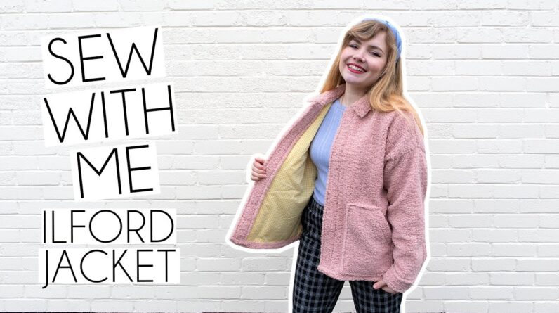 SEW WITH ME | Friday Pattern Company Ilford Jacket & Lining Vlog