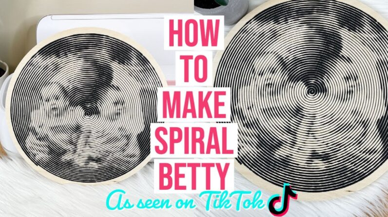 HOW TO MAKE A SPIRAL BETTY AS SEEN ON TIKTOK