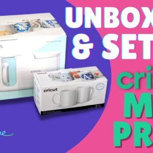 New Cricut Mug Press Unboxing and Setup | Melody Lane