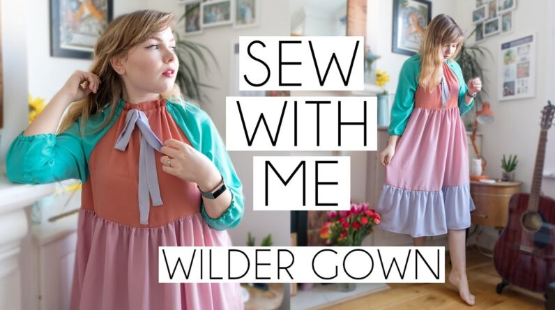 SEW WITH ME | Friday Pattern Company Colour Block Wilder Gown