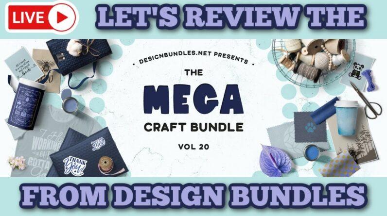 Mega Craft Bundle 20 and crafty chats!