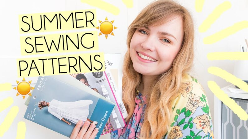 My Favourite Summer Sewing Patterns