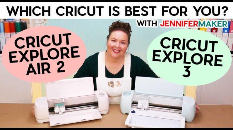 Cricut Explore 3 vs Cricut Explore Air 2 + SPEED TESTS on & off mats!