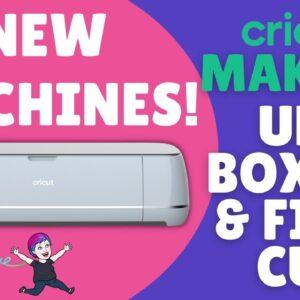 Cricut Maker 3 Unboxing & First Cut