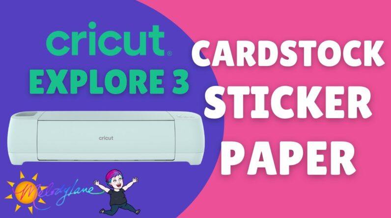 Cricut Smart Paper and Drawing on the Explore 3