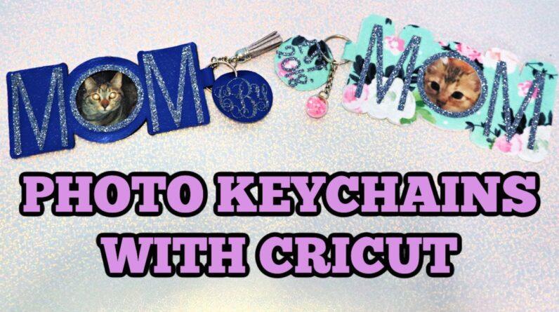 Faux Leather or Felt Keychains with Cricut