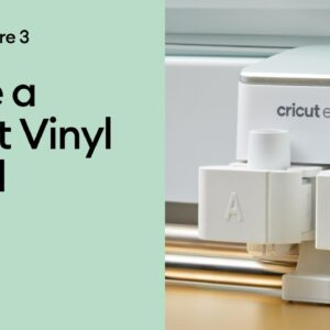 Make a Smart Vinyl Decal with Cricut Explore 3
