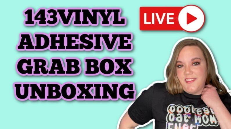 Unbox 143vinyl adhesive grab box