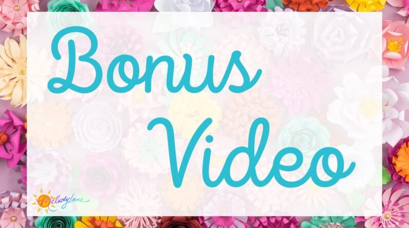 Bonus Video!