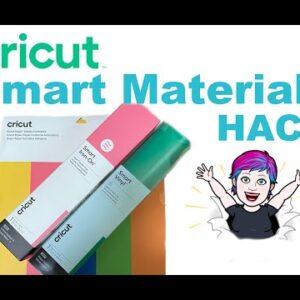Cricut Smart Materials Hack