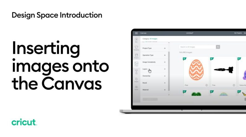 Inserting Images onto the Canvas