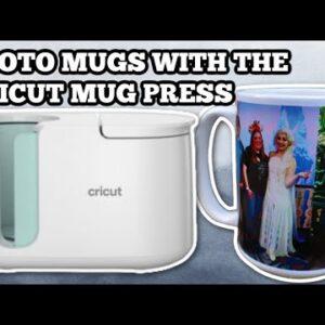 Make Dishwasher safe photo mugs with the Cricut mug press - Sublimation