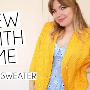SEW WITH ME | True Bias Marlo Sweater