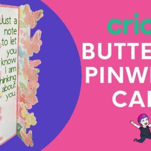 Butterfly Pinwheel Tower Card