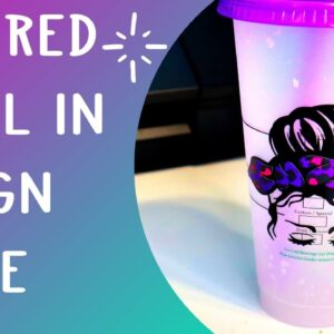 Layer decals in Design space - multicolored SVG with contour