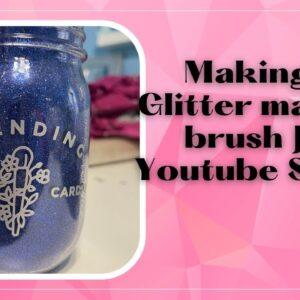 Make a glitter makeup jar - Shorts tutorial