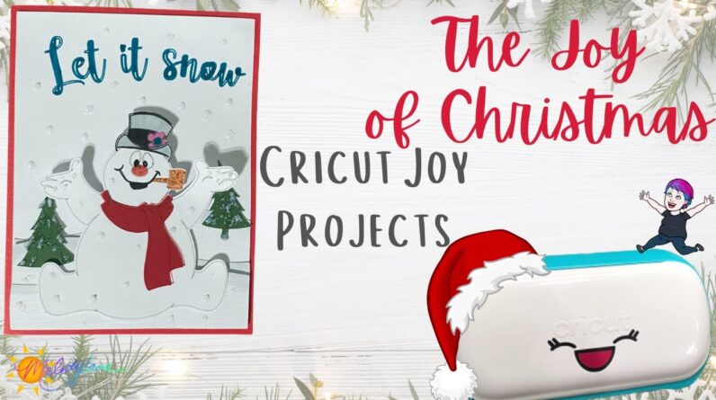 Frosty The Snowman Card | The Joy of Christmas | Christmas in July with Maymay