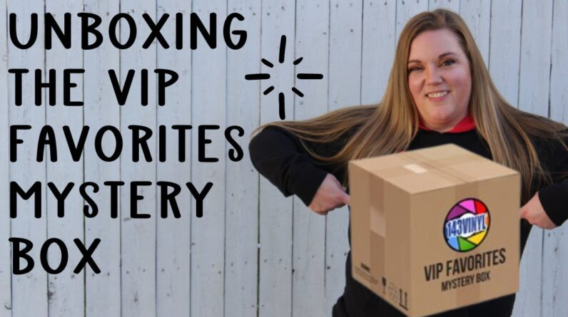 Unboxing the Mystery Box of the 143vinyl VIPs favorite things