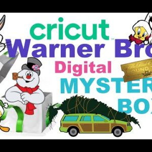 Warner Bros Cricut Digital Mystery Box | How to find Image Sets