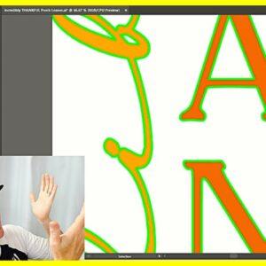 Adobe Illustrator Cuttable Fonts for Glowforge or Cricut