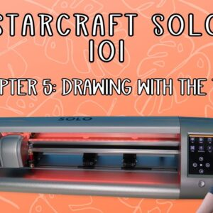 Starcraft Solo 101 - Drawing with the pen - beginner tutorial - chapter 5 series