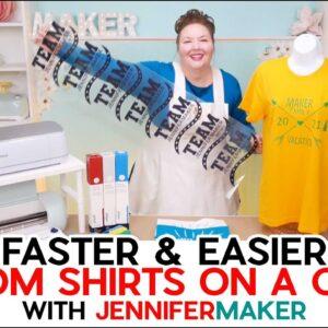 DIY Iron-On Shirts on Cricut Maker 3 & Explore 3 - Fast & Easy!
