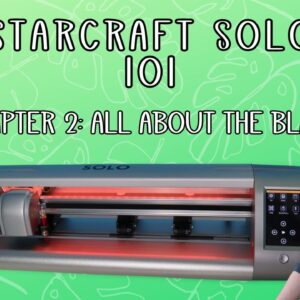 Starcraft solo 101 - Blade installation and uses - Beginner tutorials - Chapter 2 Series