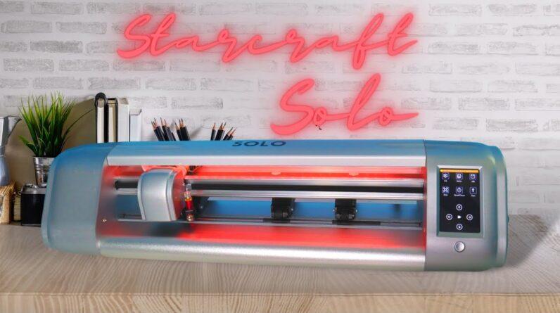 Starcraft Solo unboxing Brand new cutting machine - 16 inch die cutter