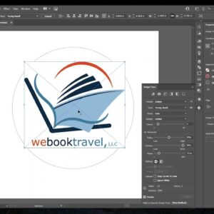 Adobe Illustrator for Glowforge PNG to SVG Cut File