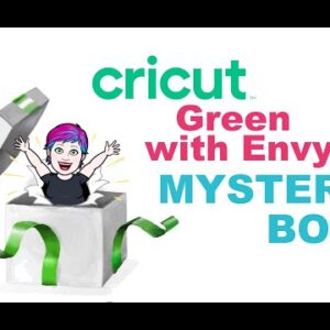 Green with Envey Cricut Mystery Box