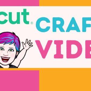 Cricut Crafty Video 10/26/21