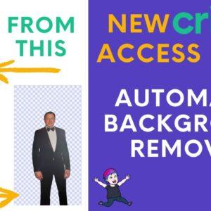 Cricut Design Space Background Removal