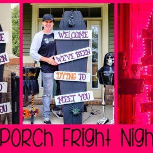DIY Halloween Porch Decor 2021