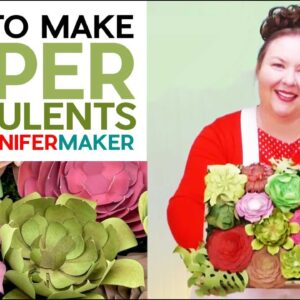 How to Make Paper Succulents: 18 Types From Cardstock & Glue