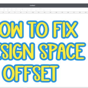 How to get offset working in Cricut Design Space - Offset does not work Javascript error and update